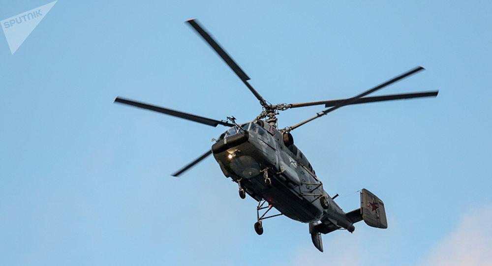 Dos muertos al estrellarse un helicóptero militar ruso en el Báltico