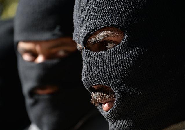 Combatientes de Talibán (imagen referencial)