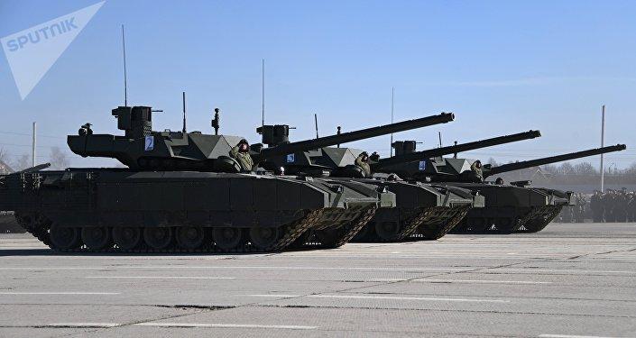 Tanques T-14 Armata