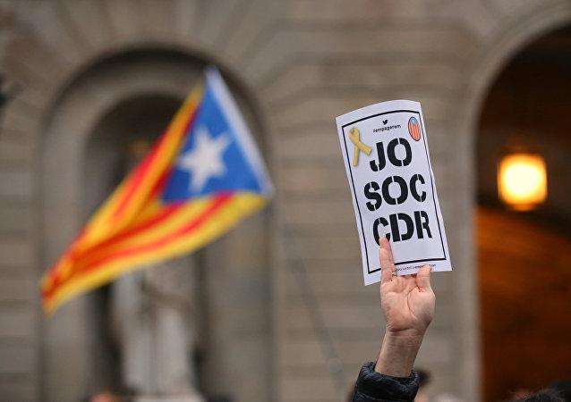 Manifestación organizada por los Comités de Defensa de la República (CDR)