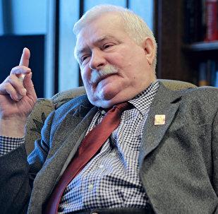 Lech Walesa, expresidente polaco (archivo)