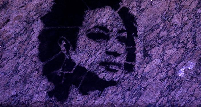 Un retrato de Marielle Franco, la consejal brasileña asesinada