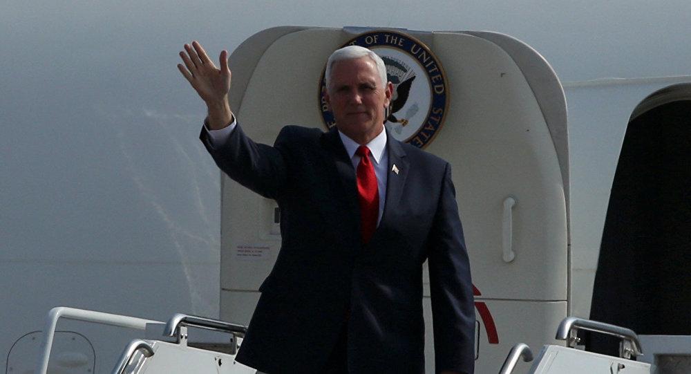 El vicepresidente de EEUU, Mike Pence, llegó a Lima