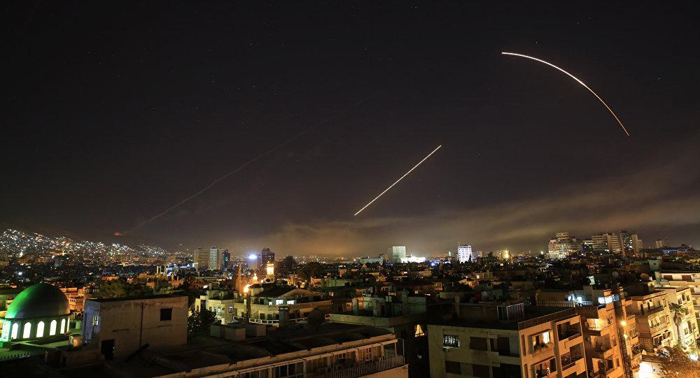 Ataque de misiles contra Damasco (Archivo)