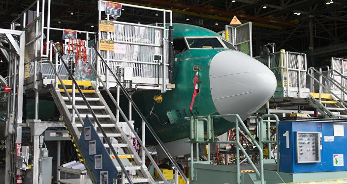 Una fábrica de Boeing en EEUU