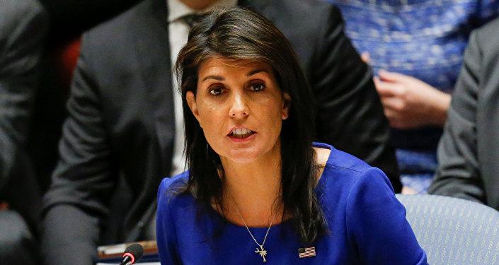Nikki Haley, la embajadora estadounidense en la ONU