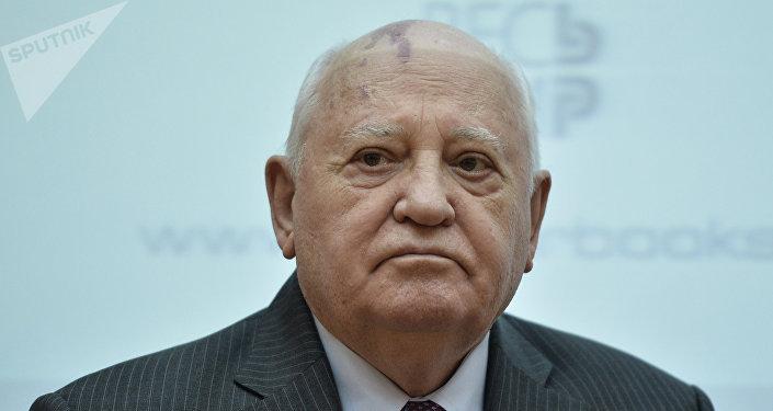 Mijaíl Gorbachov expresidente de la URSS