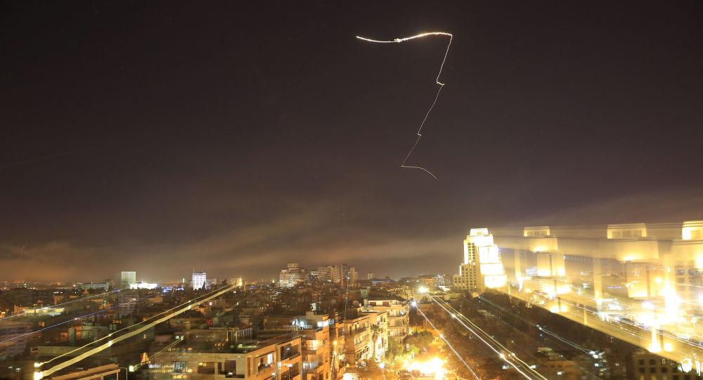El ataque de EEUU contra Damasco