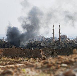 Bombardeo en Siria (archivo)