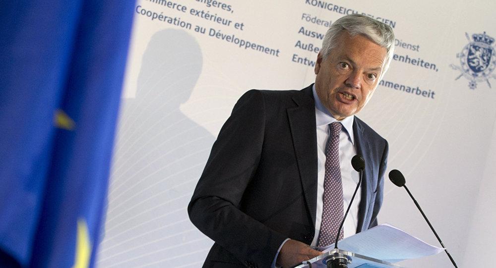 Didier Reynders, ministro de Exteriores de Bélgica