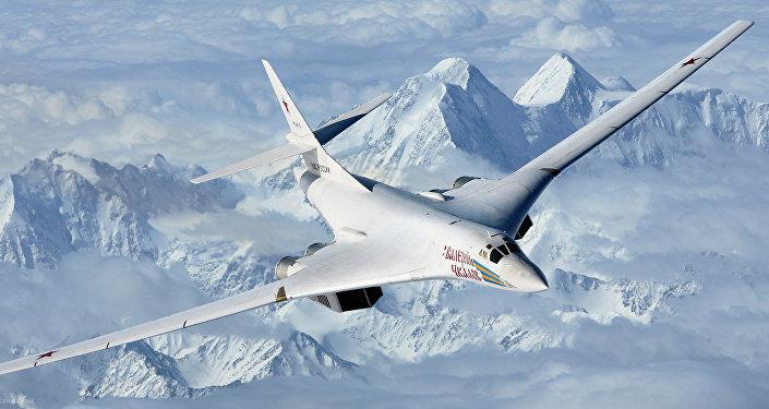 Bombardero estratégico supersónico Tu-160