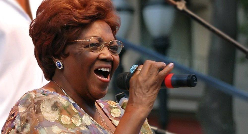 La compositora brasileña Ivone Lara, considerada la gran matriarca de la samba