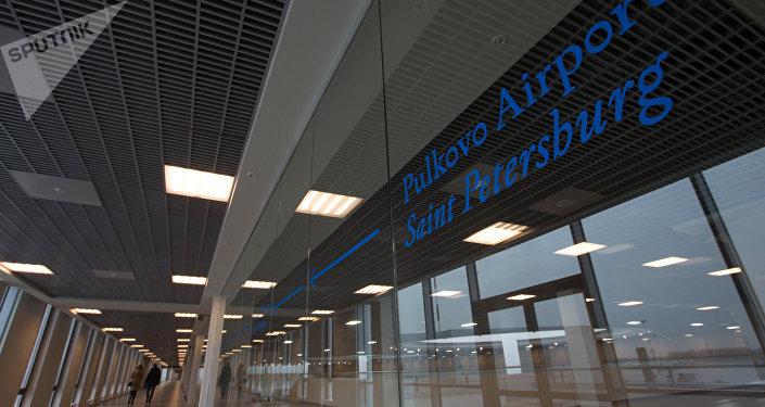 Una terminal renovada del aeropuerto de Púlkovo, San Petersburgo