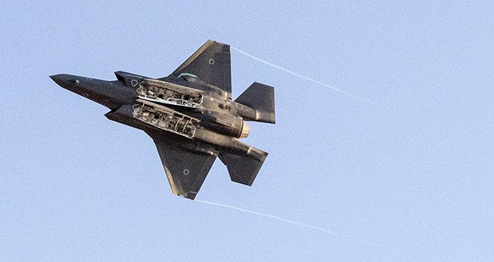 Un F-35 israelí