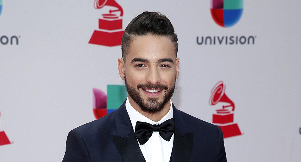 Maluma durante la 18 premiación de los Grammy Latinos en Las Vegas