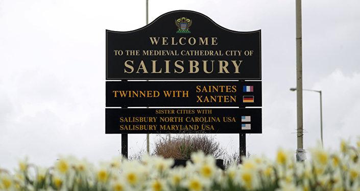 La ciudad de Salisbury, Reino Unido
