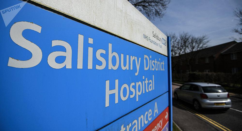 Hospital en Salisbury, Reino Unido