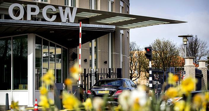 La sede de la OPAQ OPAQ en La Haya