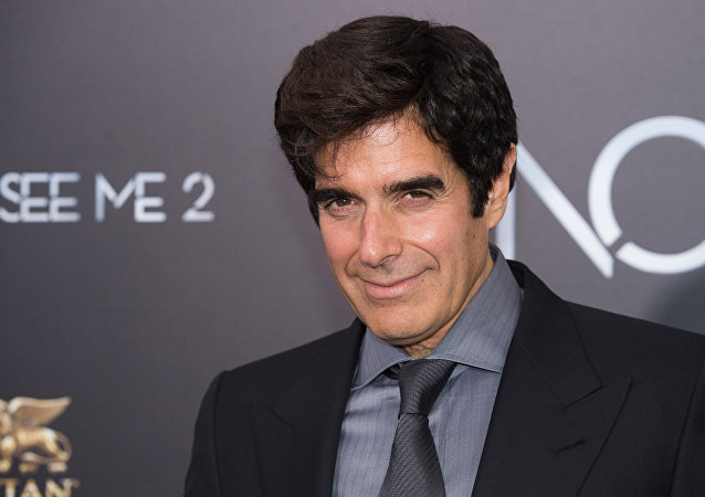 David Copperfield, ilusionista estadounidense