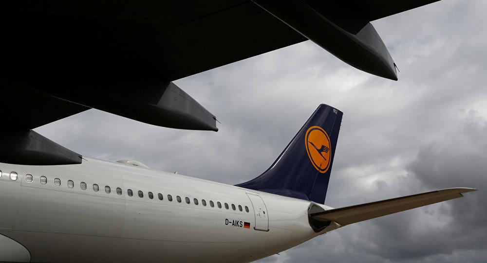 Un avión de Lufthansa