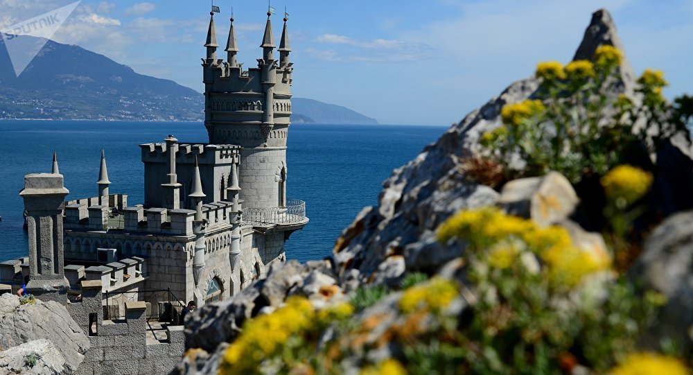Castillo Nido de Golondrina en Crimea