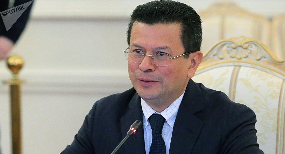 Hugo Martínez, ministro de Relaciones Exteriores de El Salvador