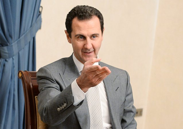 El presidente sirio, Bashar Asad