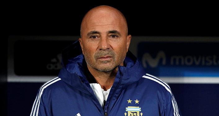 Jorge Sampaoli, un entrenador de fútbol argentino