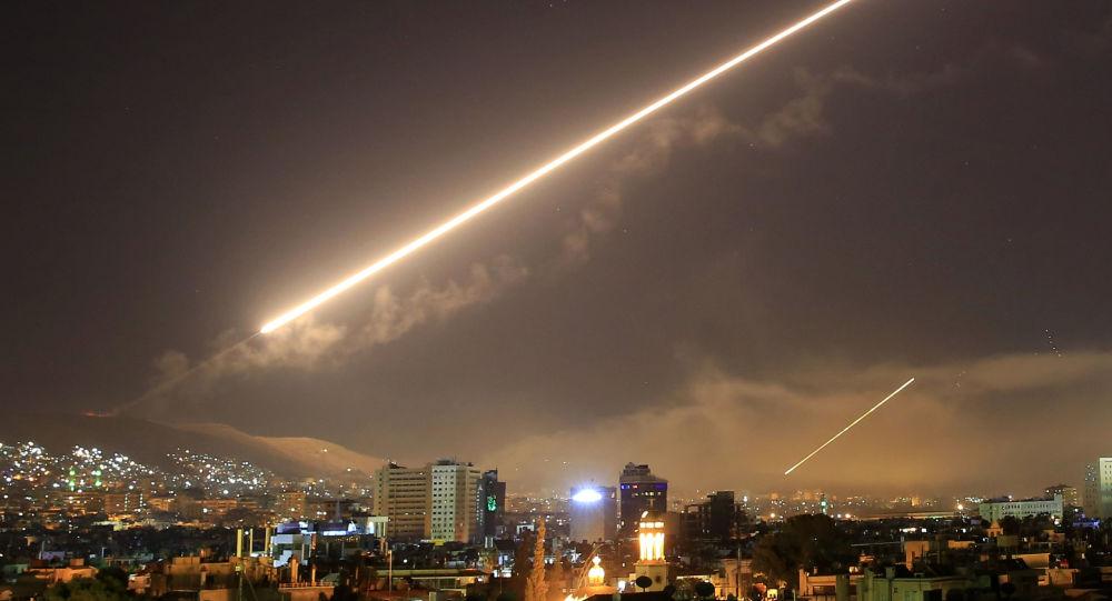 Ataque de EEUU, Francia y el Reino Unido contra Siria