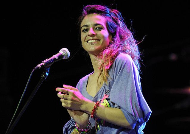 Concierto de la cantante española Bebe