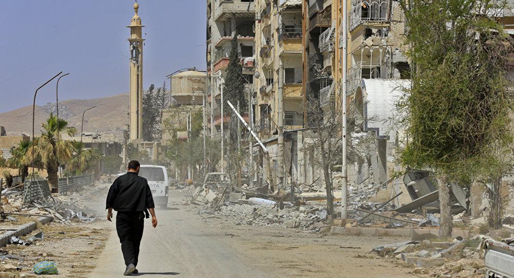 Situación eSituación en Siria (archivo)