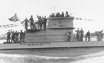 Submarino nazi U-2513 del Tipo XXI (archivo)