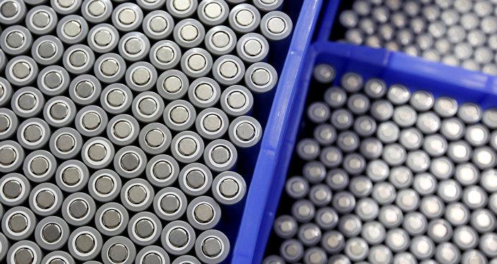 Baterías de litio (Archivo)