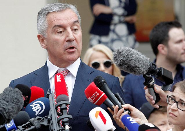 Milo Dukanovic, el presidente electo de Montenegro y el líder del gobernante Partido Democrático Socialista