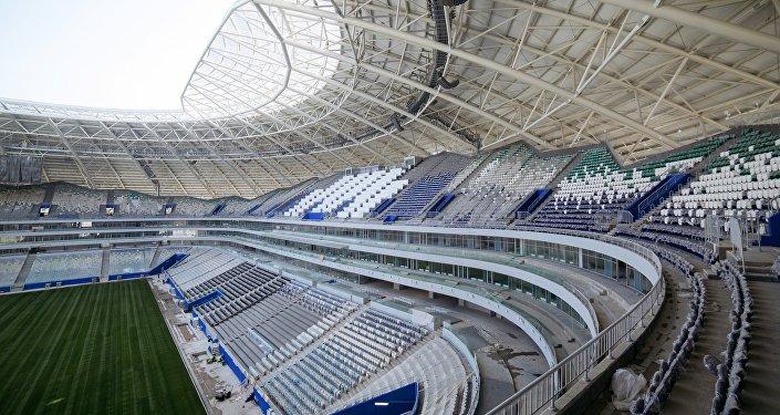 El estadio Samara Arena