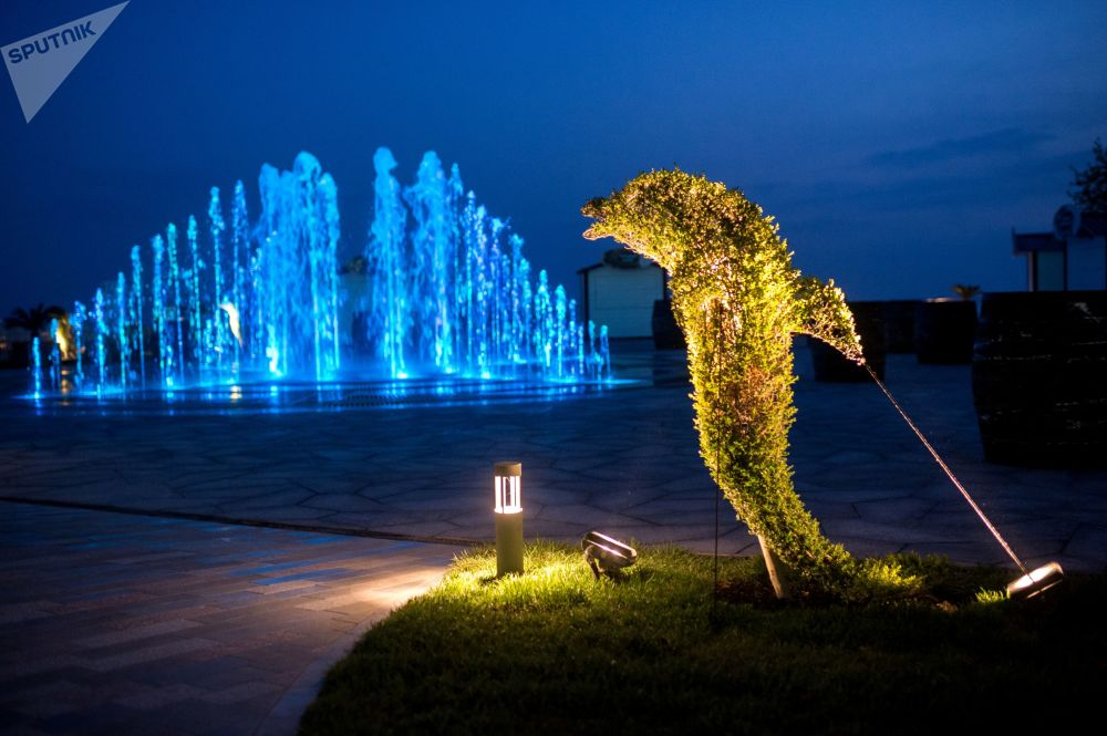 Crimea luce con el mejor balneario del mundo