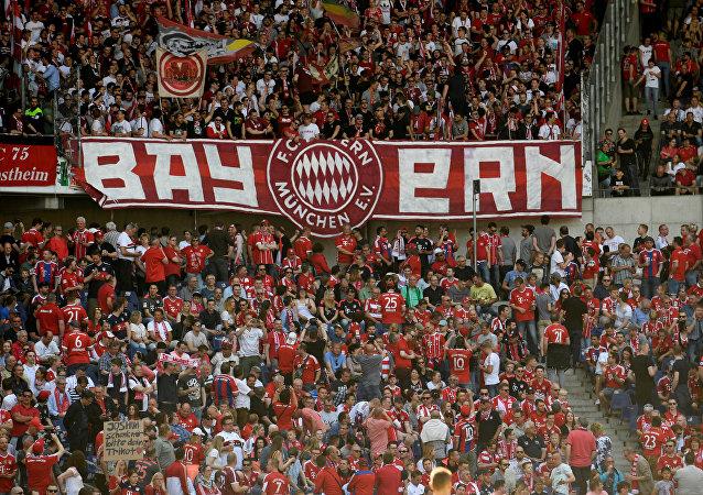 Los hinchas del Bayern Múnich