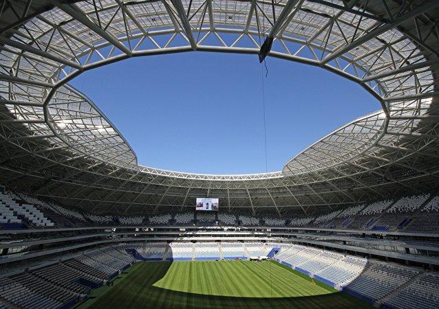 El estadio de Samara, listo para el Mundial de Rusia