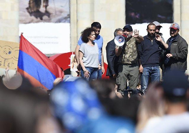 Situación en Armenia