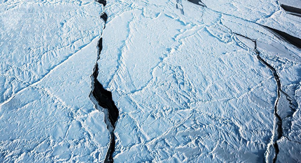 El hielo del Ártico (imagen referencial)