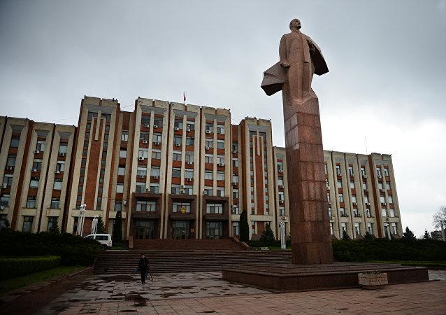 Parlamento de Transnistria en Tiraspol