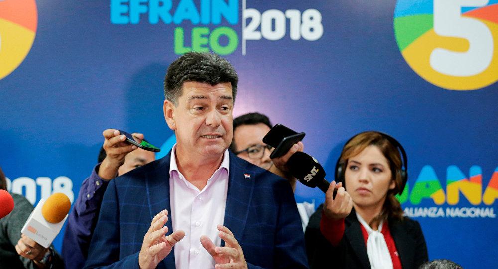 Efraín Alegre, el excandidato presidencial paraguayo