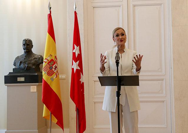 Cristina Cifuentes, la presidenta dimitida de la Comunidad de Madrid