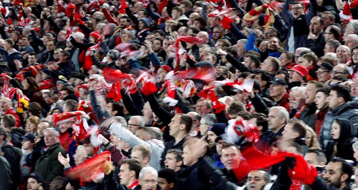 Hinchas de Liverpool
