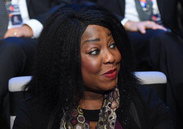 Fatma Samoura, la secretaria general de la FIFA