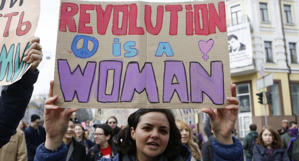 Feministas ucranianas en Kiev (archivo)