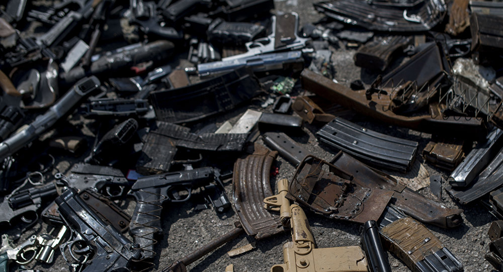 Armas en Brasil (archivo)