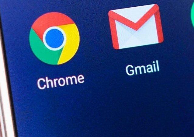 Los íconos de las aplicaciones de Google y Gmail