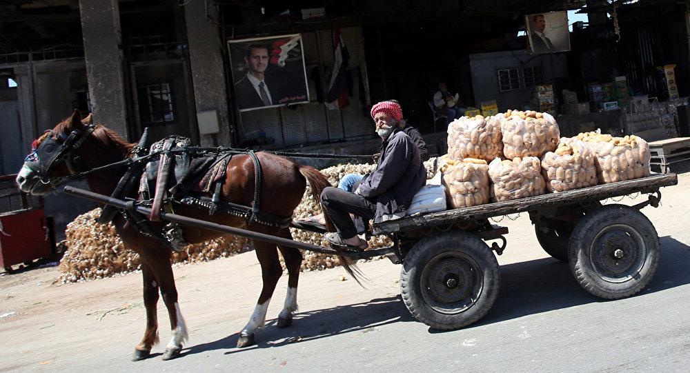 Un hombre sirio