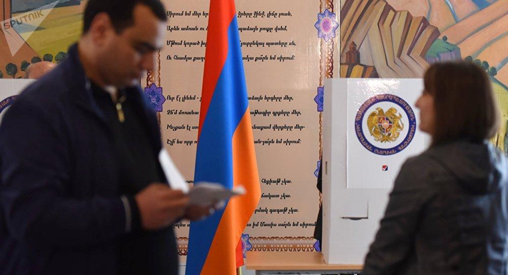 Elecciones en Armenia (archivo)